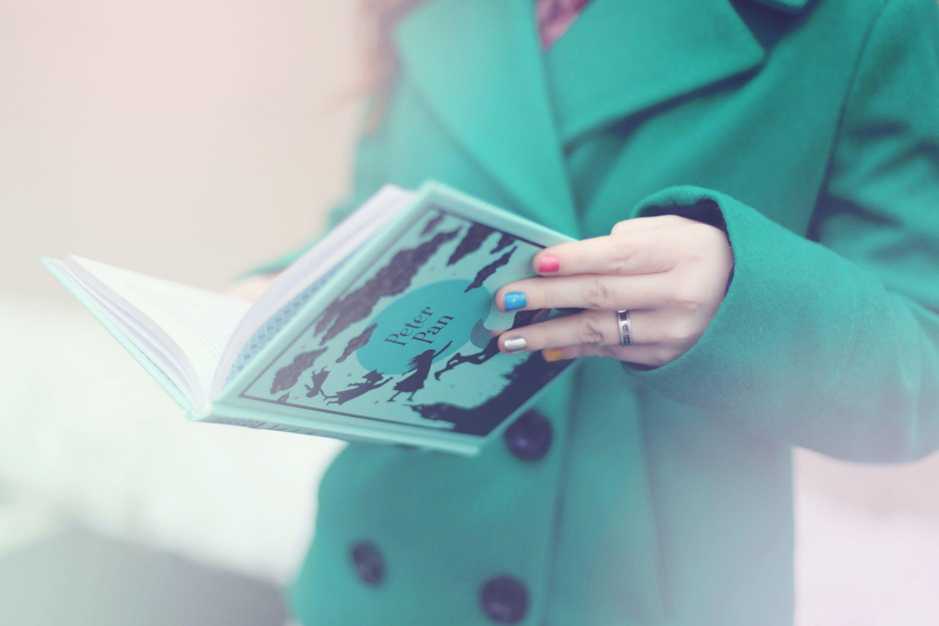 alone book coat fairy tale